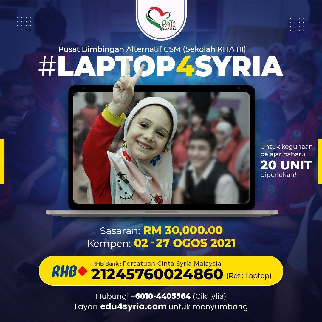 #Laptop4Syria